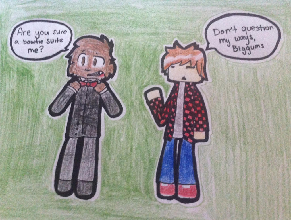 Bajancanadian And Jerome Fan Art Jerome and mitch again! by