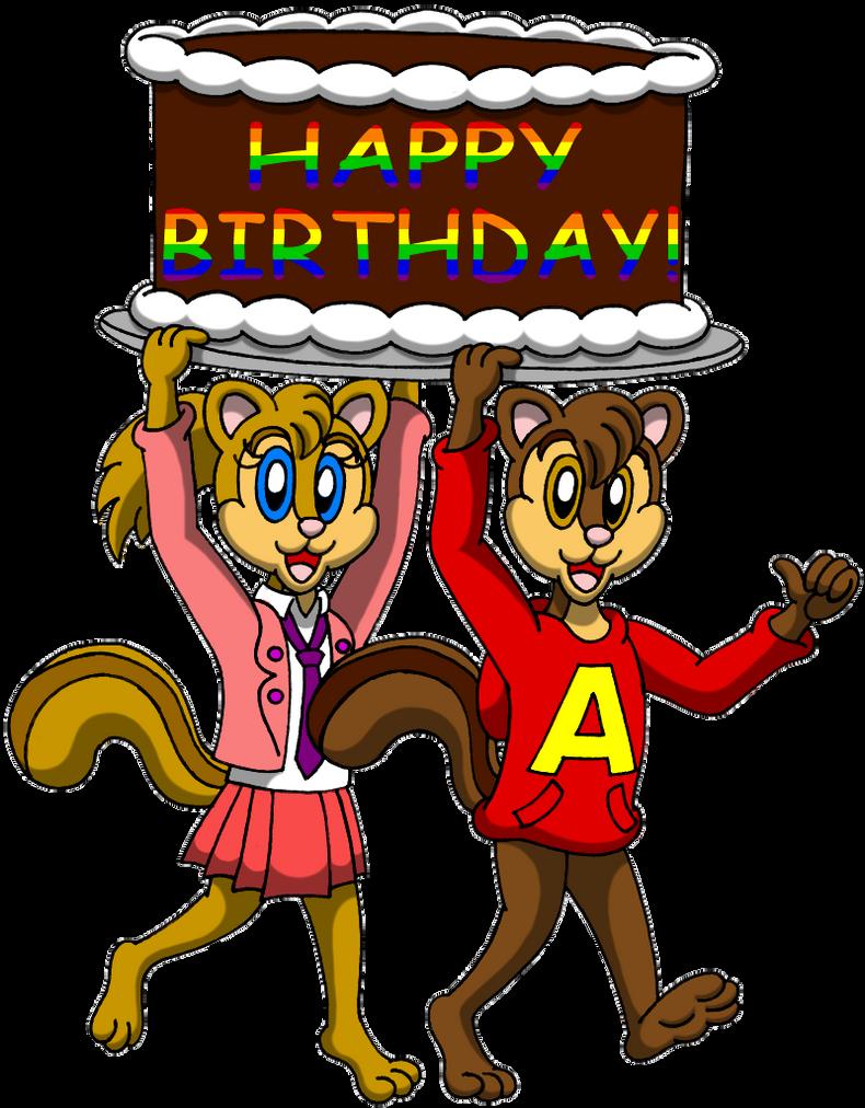 Alvin And Brittanys Birthday Surprise By Caseydecker On Deviantart