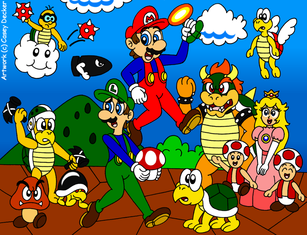 Image Result For Mario Course Coloring