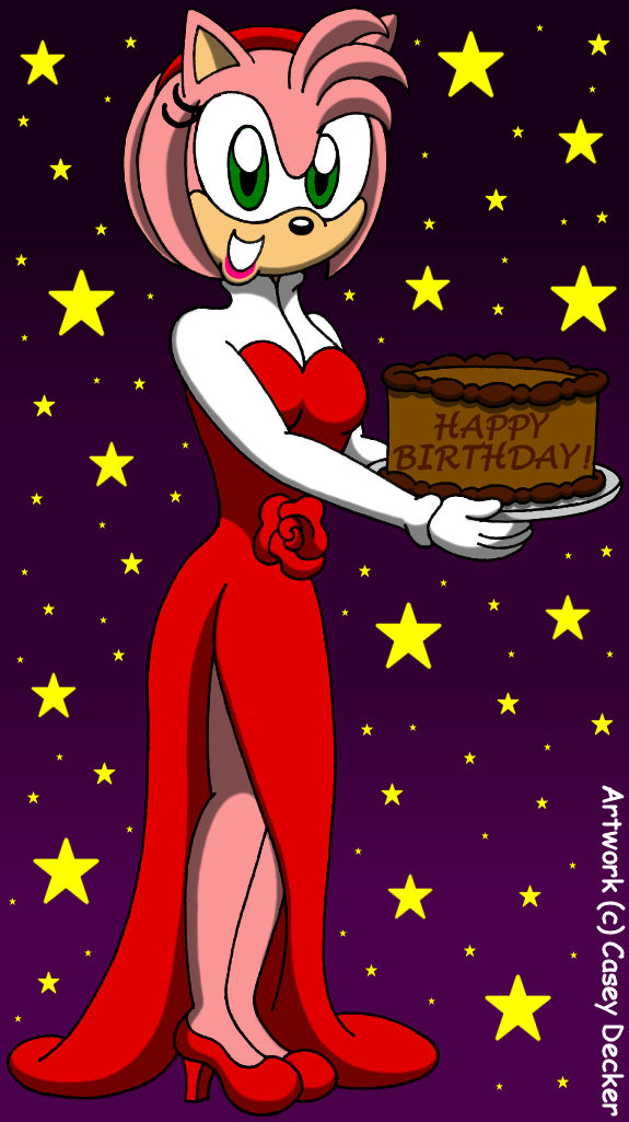 Amy S Fancy Birthday Surprise By Caseydecker On Deviantart