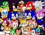 Sonic The Hedgehog's 25th Anniversary