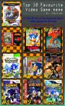 My Top 10 Favorite Sonic Games