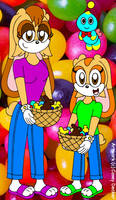 Vanilla And Cream's Easter Candy by CaseyDecker