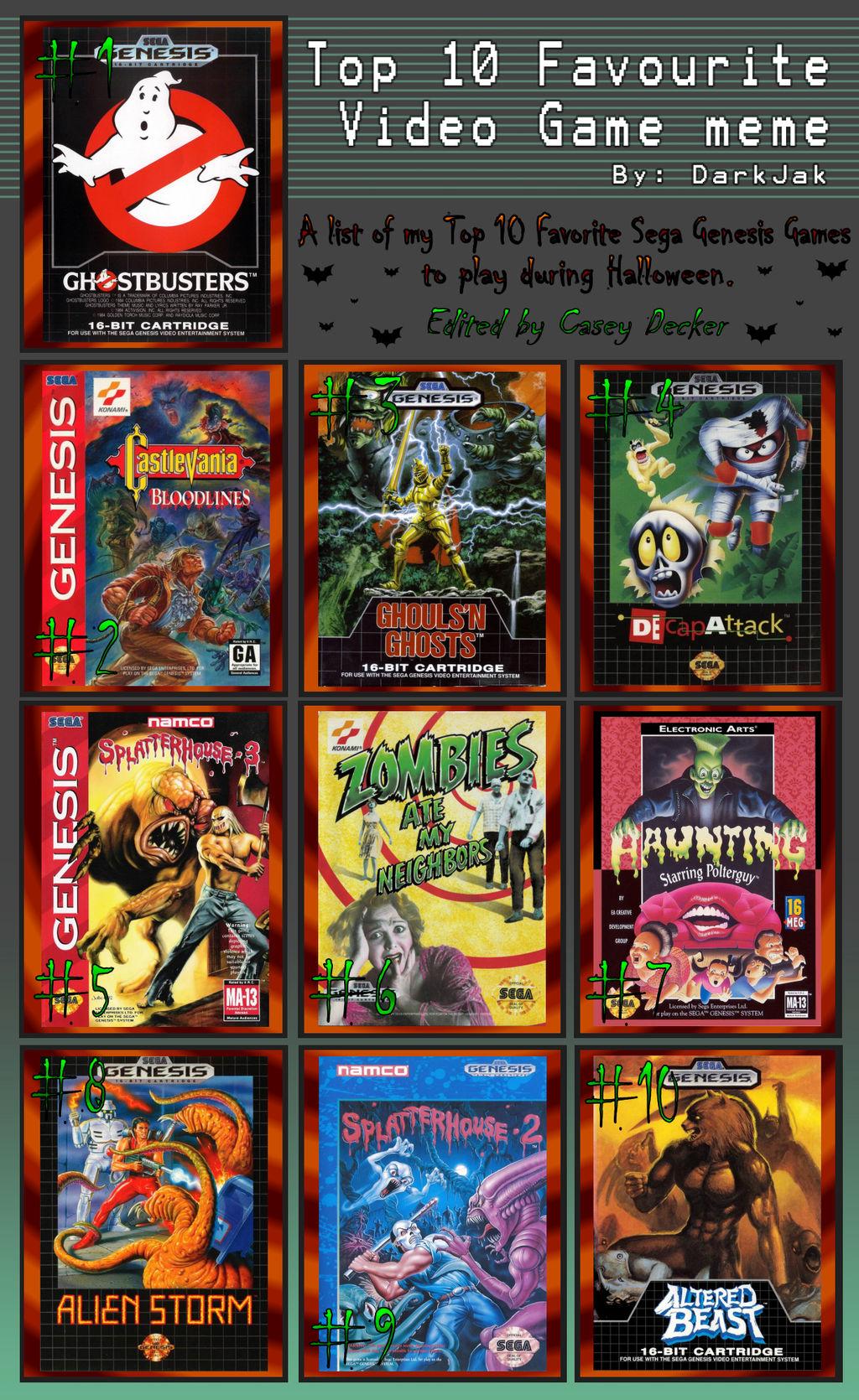 Sega genesis game show games spider man games 1 2 3