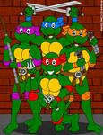 Teenage Mutant Ninja Turtles - 1987 Version by CaseyDecker