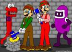 Mario And Luigi: Wrecking Crew by CaseyDecker