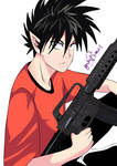 ES21 - Kid Hiruma Youichi by Yukarimas