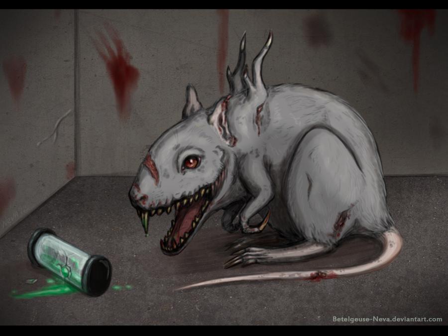 Cute rat by Lilion-Bayl