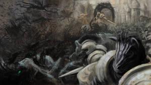 Siege - Gates of Canterlot by Chiapetofdoom