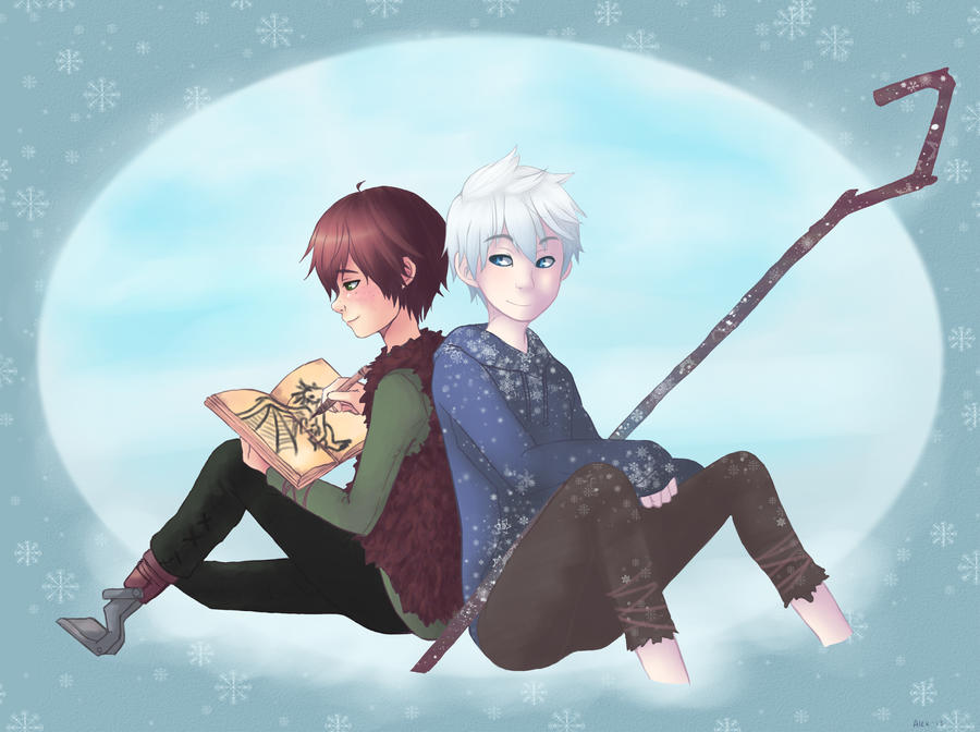 Jack Frost And Hiccup- Drawing With Good Company By
