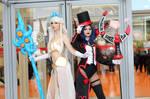 Janna and Prestigious Leblanc cosplay