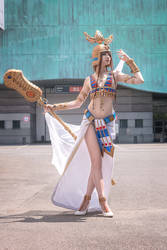 Hatchepsout cosplay from civilization online  by NineetNora