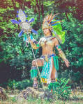 Mia cosplay from civilization online