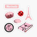 Marinette Stickers