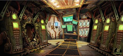 StarFlint - Cryo chamber 04 by stunmason