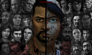 TWD - Lee and Clem 2 sides (Alternative Version)