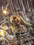 Raindrops, Puddles and Doleful Scrubs by Lunaros
