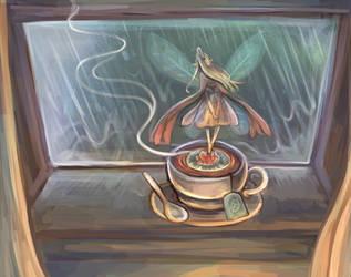 Gentle Rain by Lunaros