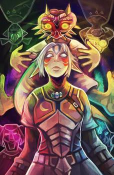 Fierce Deity's Mask