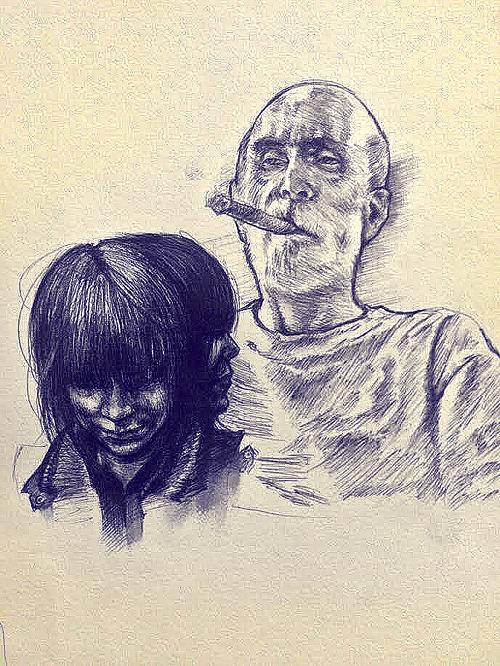 Penwork - 03/23 by DirtPigeon