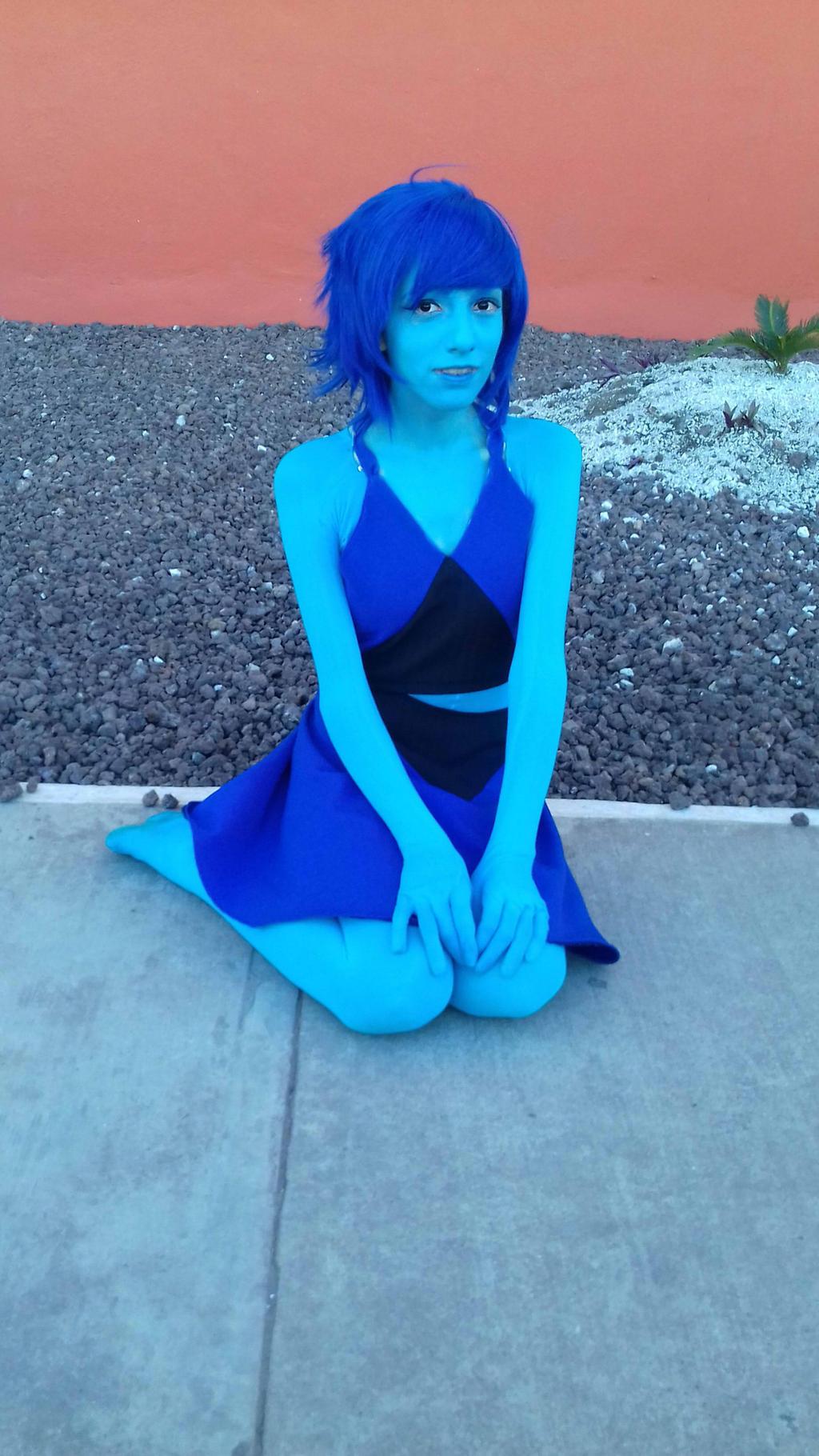 Lapis Lazuli cosplay -w- by Thetruffulacupcake