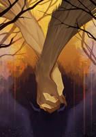 Poem 7 -Autumn Wolf- by Remarin