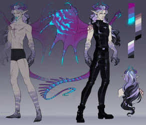 Design C:. demon boy by Remarin