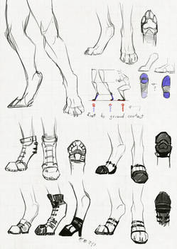 Shoes for people on the digitigrade spectrum
