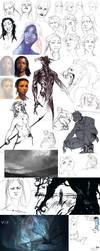 Sketchdump.12 by Remarin