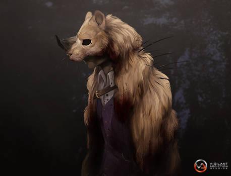 VA-Studios: Beastpelt cloak card