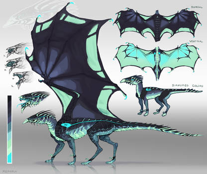 Greensnouted Dragon -Auction- CLOSED