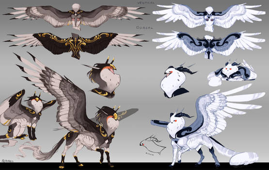 Imperial Gryphons -auction- sold