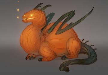 Monstober Day10 - Gourd/Autumn