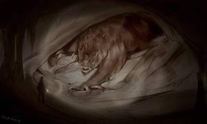 Monstober Day17 - Subterranean