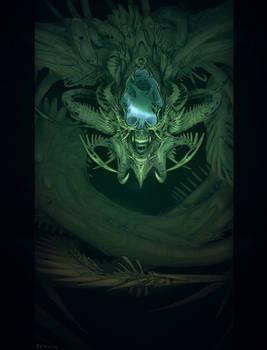 Monstober Day27 - Alien