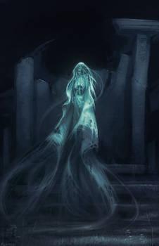 Monstober Day29 - Ghosting
