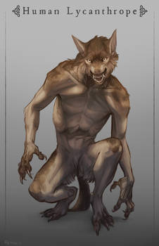 Lycanthrope: Human