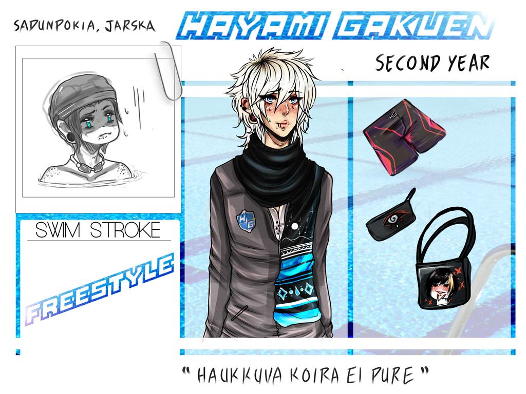 Hayami Gakuen App by ZydrateAddicted