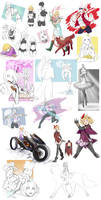 .:Project-Revelations:. Doodle Dump 2 by Trix-ster
