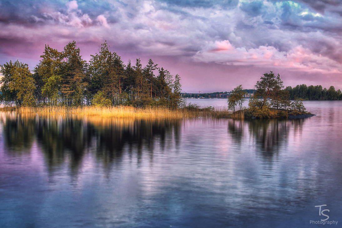 Islands of Saimaa by Grymstiff