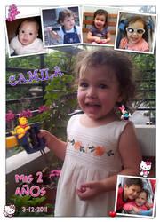 Camila 2nd birthday by Veroka