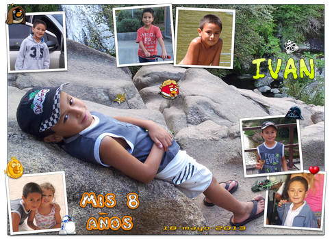 Ivan's 8th birthday