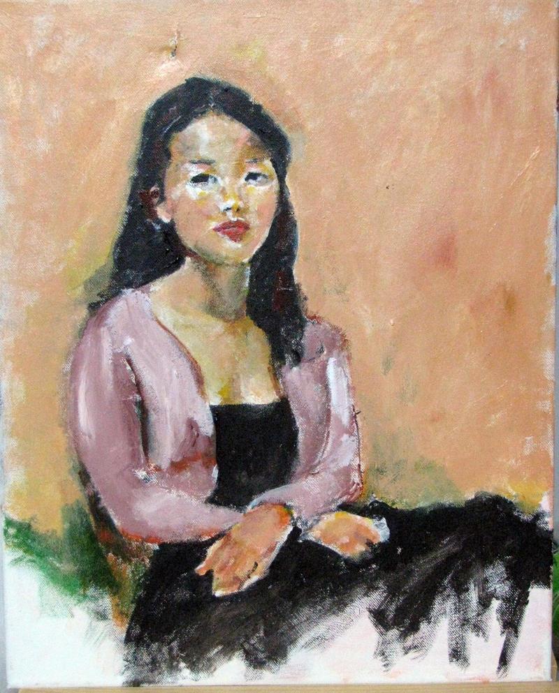 Chinese Woman by JimmyDemello