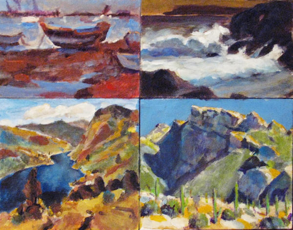 Studies of Glen Deans Landscapes by JimmyDemello