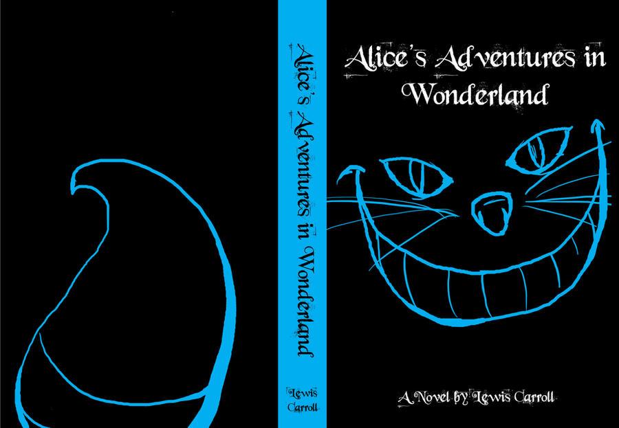 Alice In Wonderland Book Cover Ideas : Alice in wonderland book cover by jinsume on deviantart