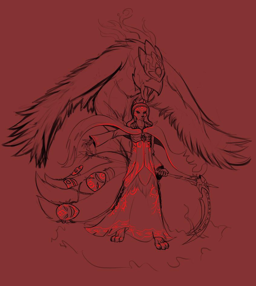 Sketch Commission - Loa by emikochan13