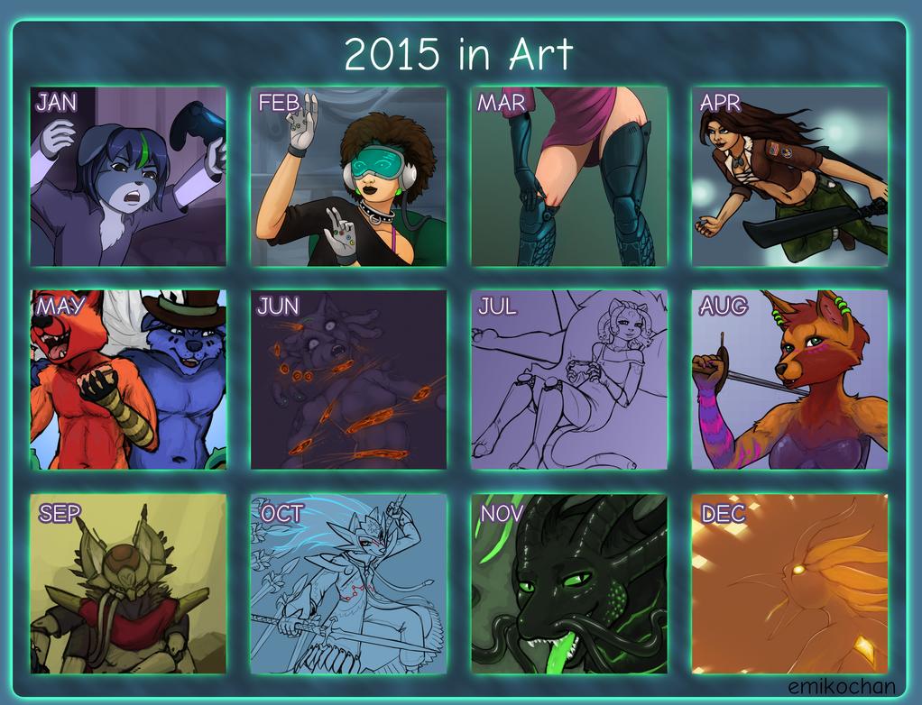 2015 in Art by emikochan13