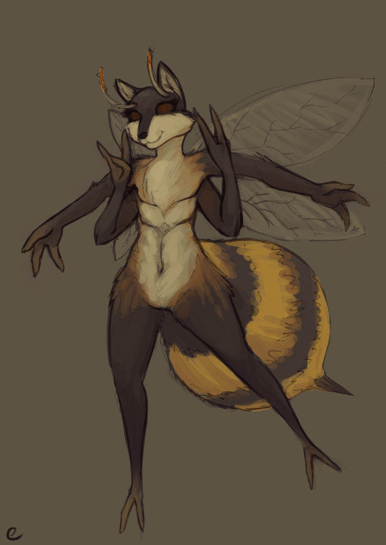 Wasp/Wolf by emikochan13