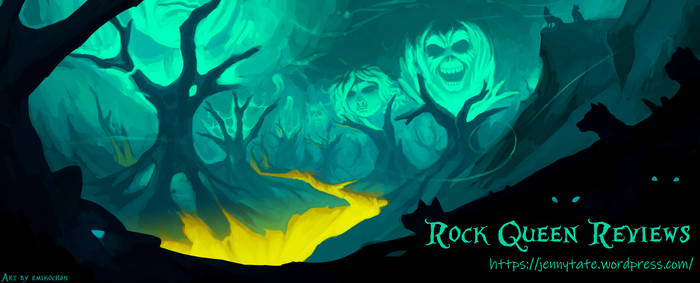 Banner for the Rock Queen