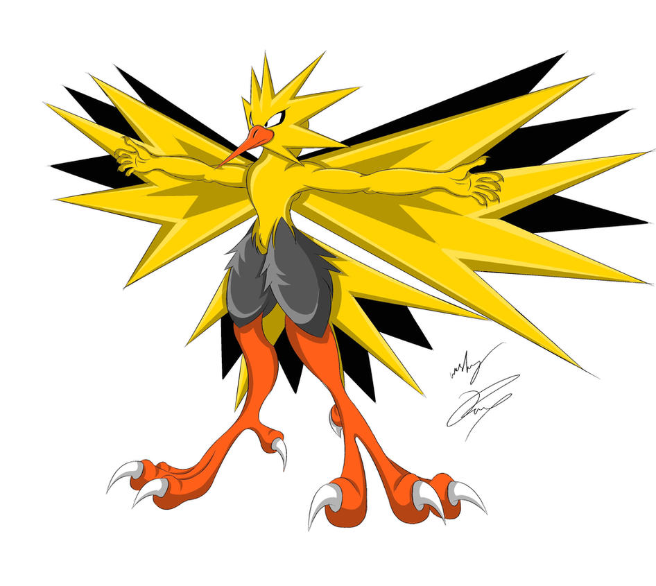 Zapdos My Style Color by GunZcon
